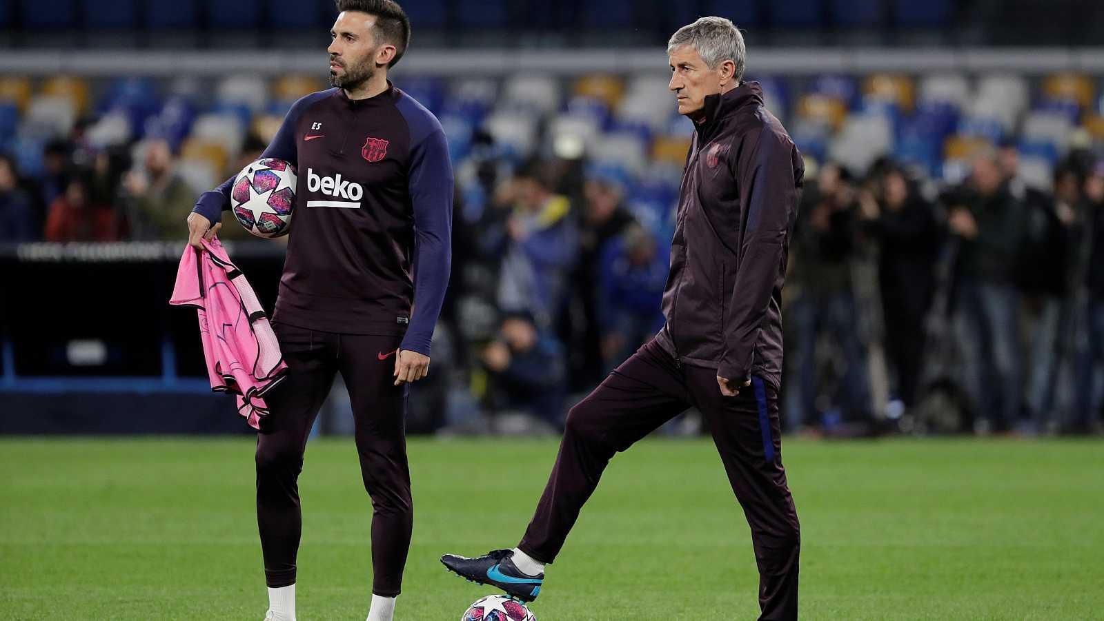 El Barça llega a Nápoles dispuesto a demostrar su mejoría