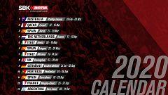 El calendario del WorldSBK 2020, en dos minutos