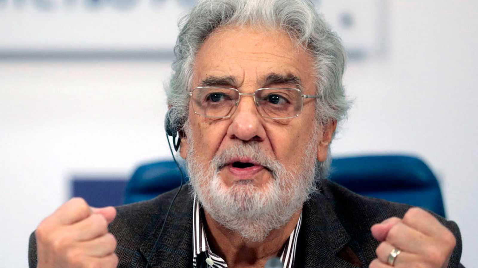 Plácido Domingo pide perdón a las mujeres que lo han denunciado por acoso sexual
