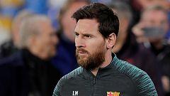 Messi visita el 'templo' de Maradona