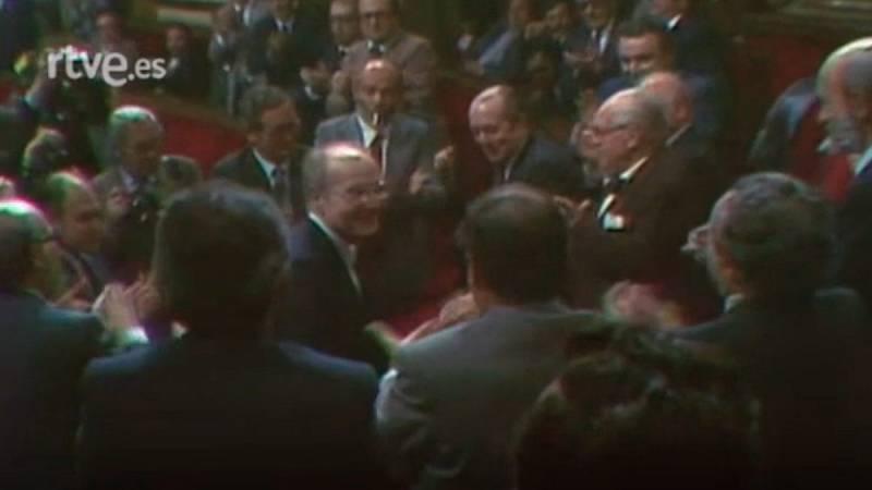 Arxiu TVE Catalunya - Heribert Barrera és escollit president del Parlament de Catalunya