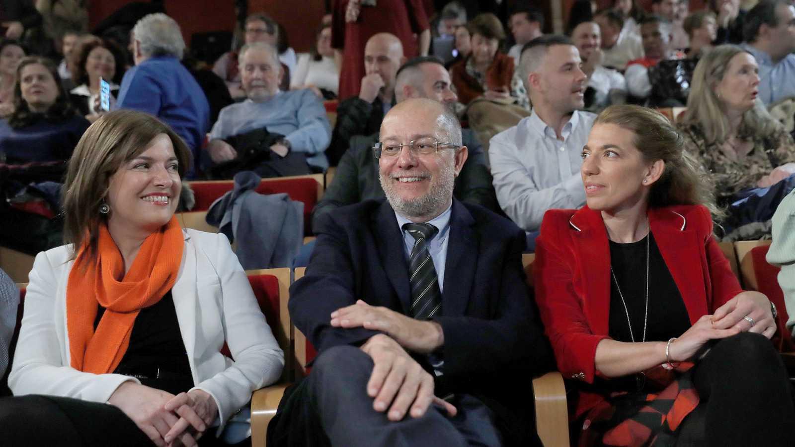 Igea presenta su candidatura para disputar a Arrimadas el liderazgo de Ciudadanos