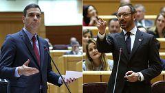 Sánchez defiende en el Senado la actuación de Ábalos en su encuentro con la vicepresidenta de Venezuela en Barajas