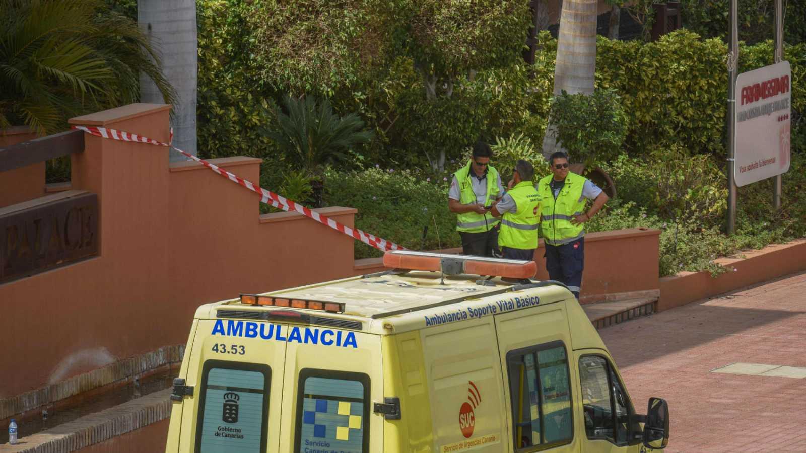 Dos nuevos positivos por coronavirus entre los italianos del hotel de Adeje de Tenerife