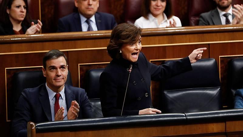 """Calvo defiende que Iglesias forme parte de la comisión delegada que supervisa el CNI: """"Es vicepresidente de este Gobierno"""""""