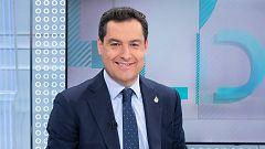 """Juanma Moreno: """"El PP no es Vox, si ellos no creen en las autonomías es su decisión"""""""
