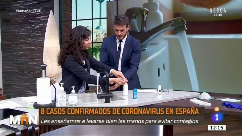 La Mañana - ¿Cómo lavarse las manos de forma efectiva para evitar el coronavirus?