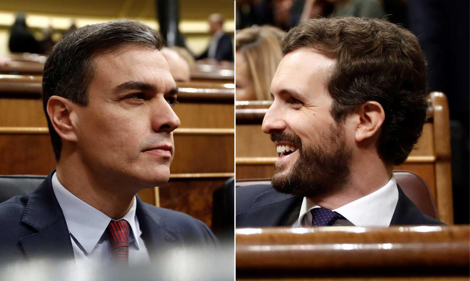 Sánchez defiende la mesa de diálogo con Torra frente a las críticas de la oposición y las exigencias de JxCat