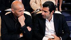 Figo analiza las carreras de Zidane y Guardiola