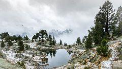 Viento fuerte en el noreste peninsular y nevadas en Pirineos