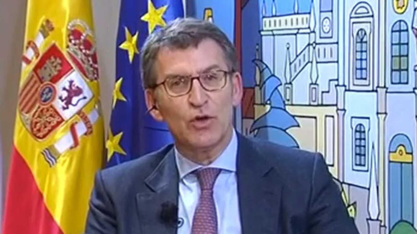 Feijóo considera fundamental para el PP obtener de nuevo la mayoría absoluta en Galicia