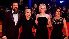Javier Bardem presenta 'The Roads Not Taken', dirigida por Sally Potter, en el Festival de Cine de Berlín