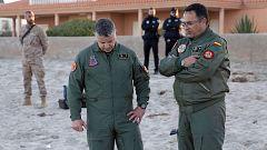 Muere el piloto del avión del Ejército del Aire tras estrellarse en La Manga