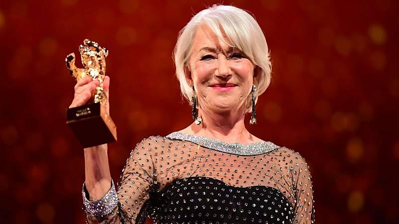 Helen Mirren recibe el Oso de Oro Honorario de la Berlinale