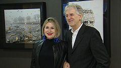 CNIO Arte - Carmen Calvo y Juan Luis Arsuaga