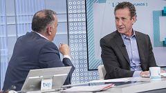 Los desayunos de TVE - Jorge Valdano, exjugador y exentrenador de fútbol