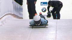 Skeleton Femenino - Campeonato del Mundo. 1ª manga, desde Altenberg (Alemania)