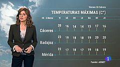 El tiempo en Extremadura - 28/02/20