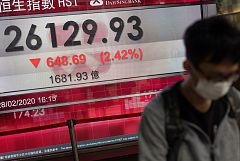 El miedo al coronavirus tumba los mercados de todo el mundo y algunos analistas apuntan a la recesión