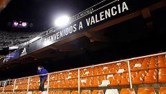 El Valencia suspende todo acto público no deportivo de la primera plantilla por el coronavirus