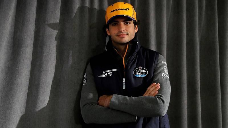 Carlos Sainz pretemporada