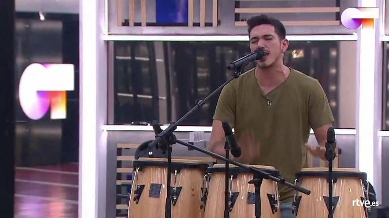 """Bruno canta """"Llegué hasta ti"""", de Muerdo, en el segundo pase de micros de la Gala 7 de Operación Triunfo 2020"""