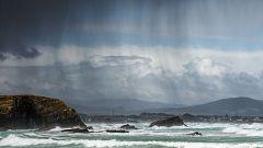 Cielos nubosos y precipitaciones durante todo el día en Galicia, el Cantábrico y los Pirineos