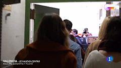 OT 2020 - Salida de Samantha, Flavio y Maialen ante los fans en Valencia