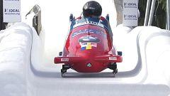 Bobsleigh A-4 Masculino - Campeonato del Mundo. 1ª manga, desde Altenberg (Alemania)