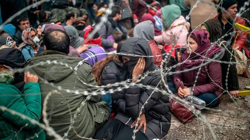 Turquía presiona a la UE con abrir la frontera para que se implique más en la guerra de Siria