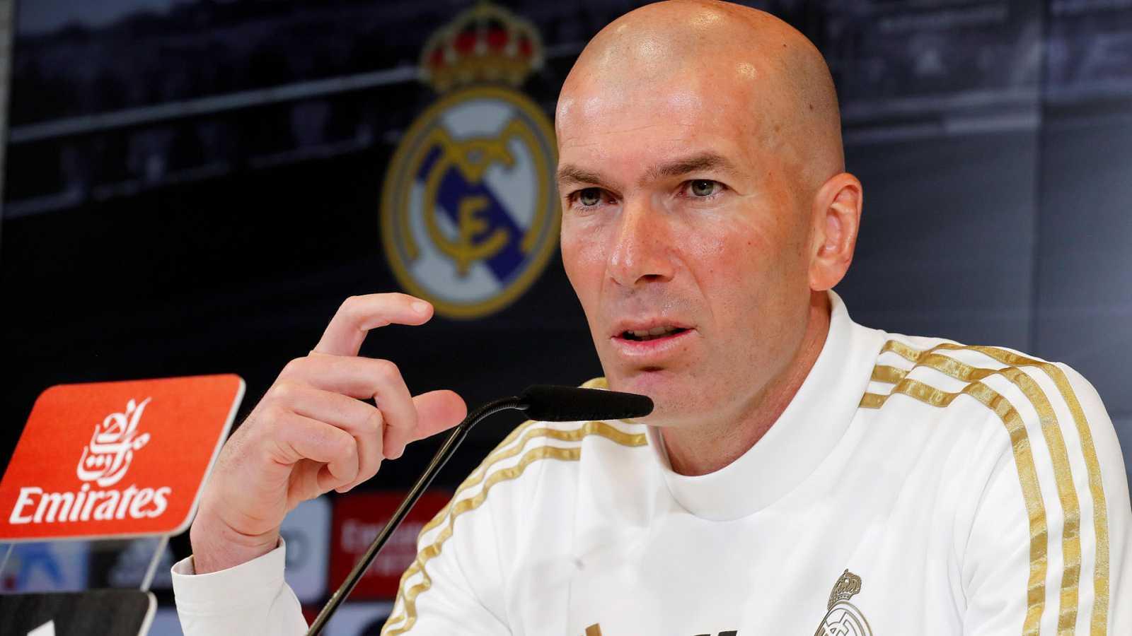 """Zidane: """"No pienso qué va a pasar si perdemos, no es mi filosofía"""""""
