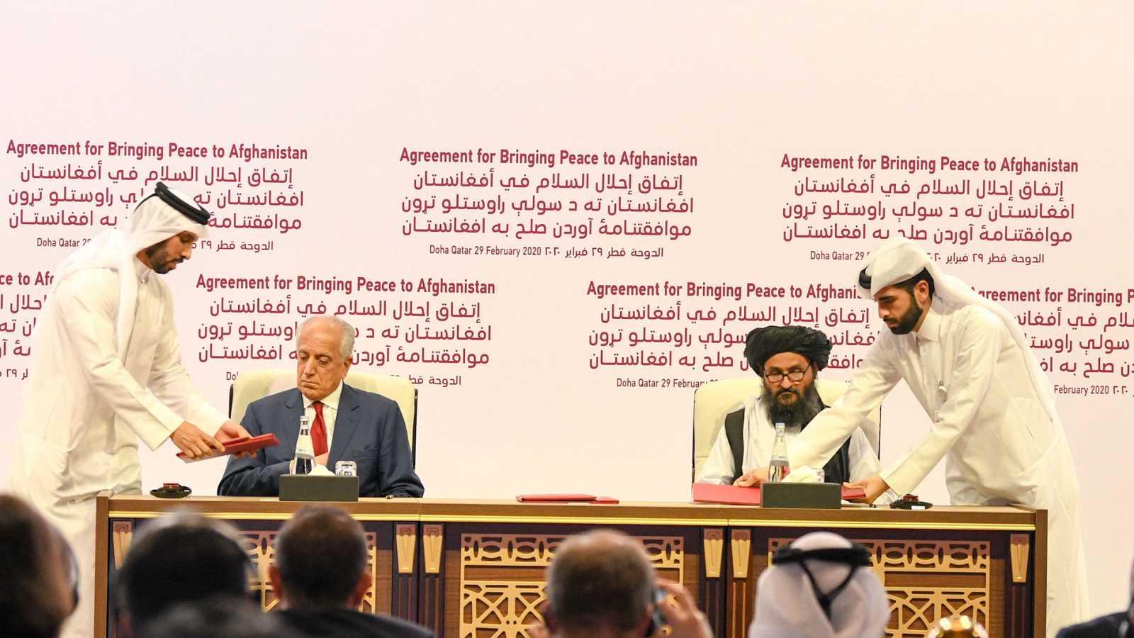 Acuerdo entre EE.UU. y talibanes en Afganistán