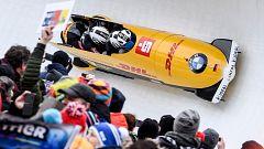 Bobsleigh A-4 Masculino - Campeonato del Mundo. 4ª manga, desde Altenberg (Alemania)