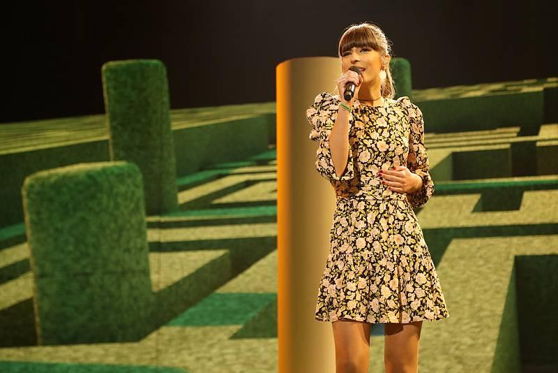 "Maialen canta ""Andar conmigo"" de Julieta Venegas, en la Gala 7 de Operación Triunfo 2020"