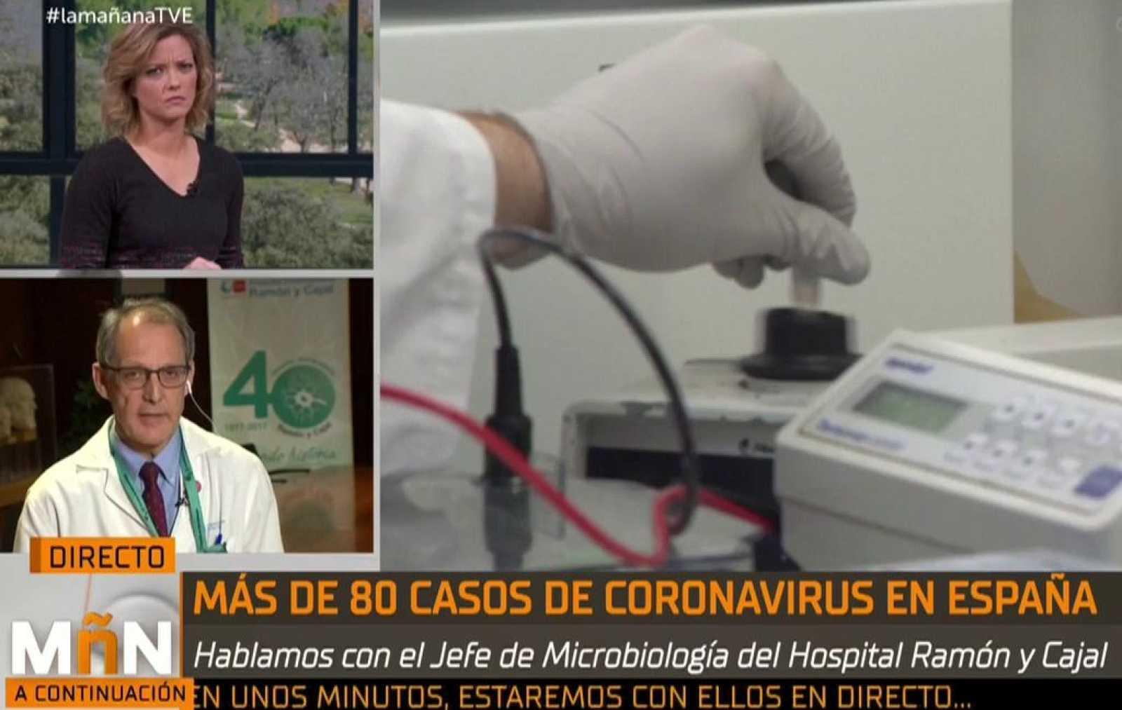 """Rafael Cantón Jefe de Servicios de Microbiología del Ramón y Cajal: """"El tratamiento en Sevilla parece la mejor opción terapéutica contra el brote"""""""
