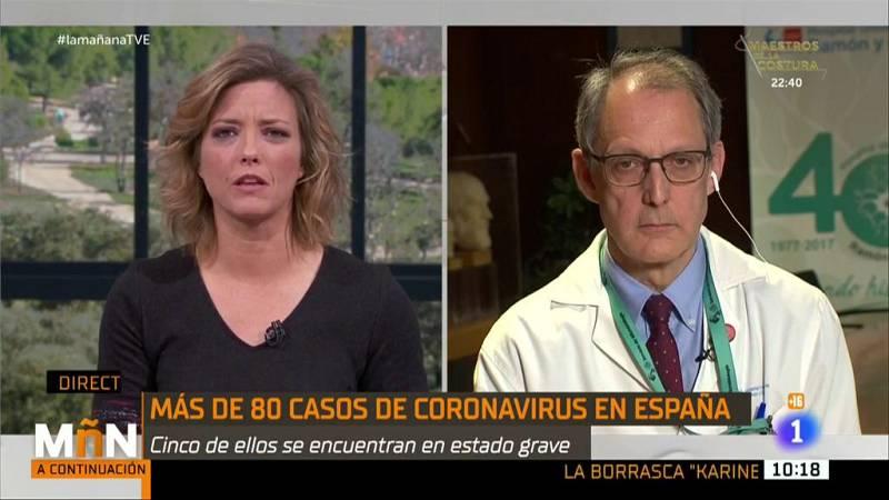 """La Mañana - Rafael Cantón Jefe de Servicios de Microbiología del Ramón y Cajal: """"El tratamiento en Sevilla parece la mejor opción terapéutica contra el brote"""""""
