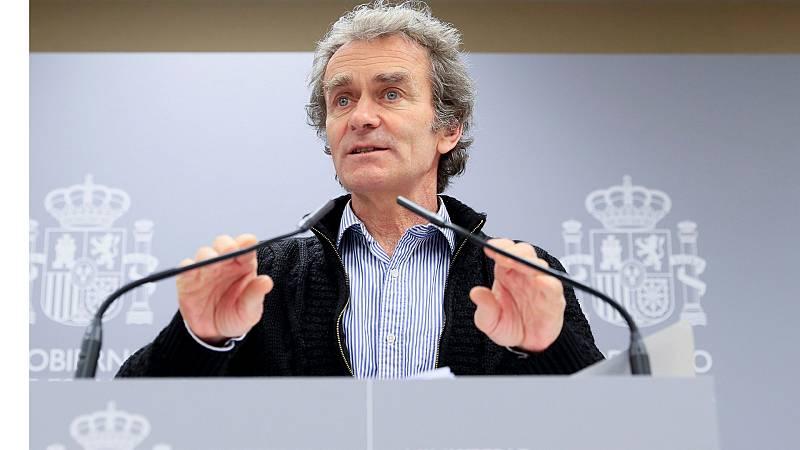 Comparecencia de Fernando Simón sobre la última hora del Coronavirus en España