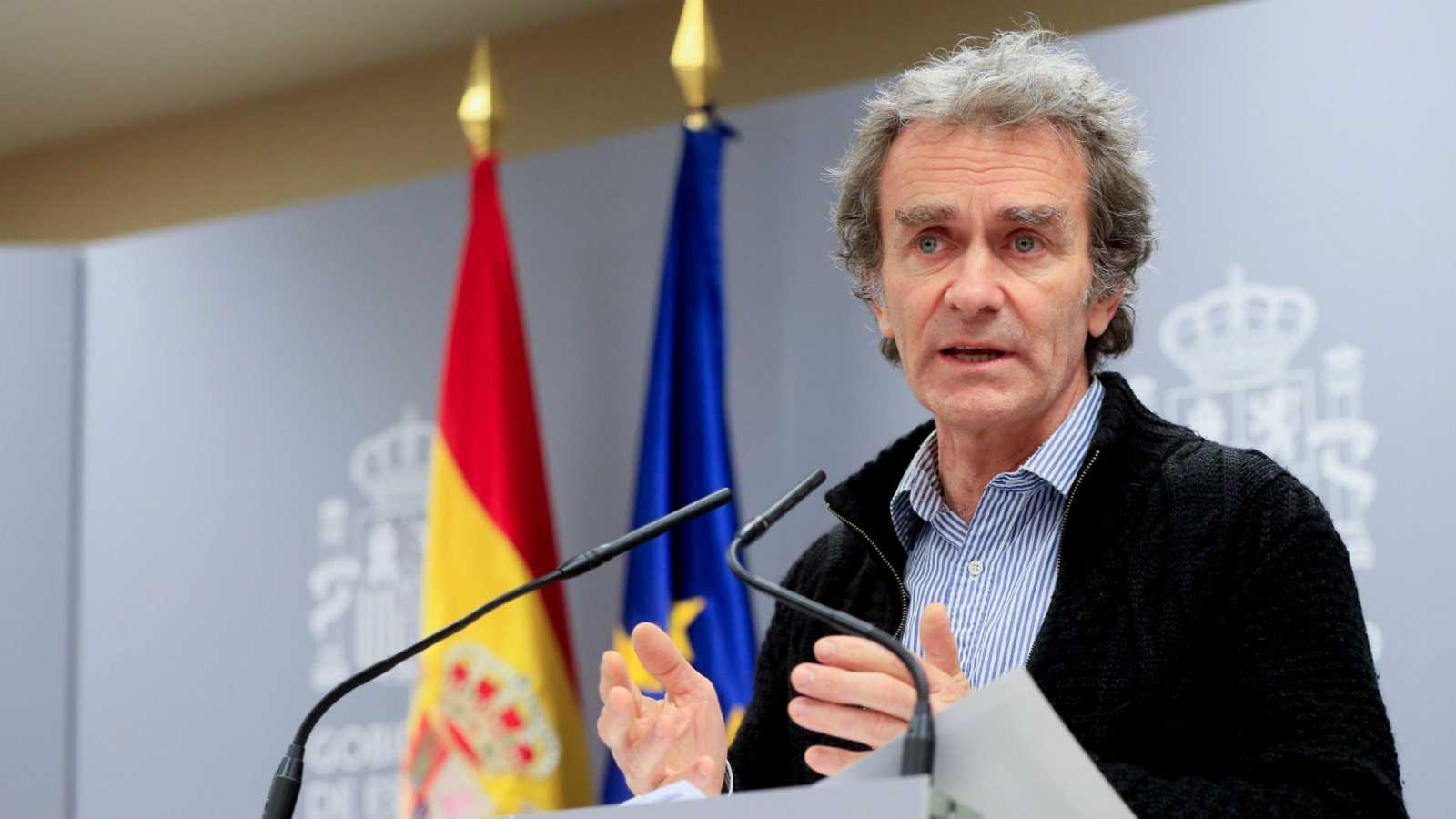 Sanidad sopesa pasar a una fase de mitigación en Vitoria y Madrid