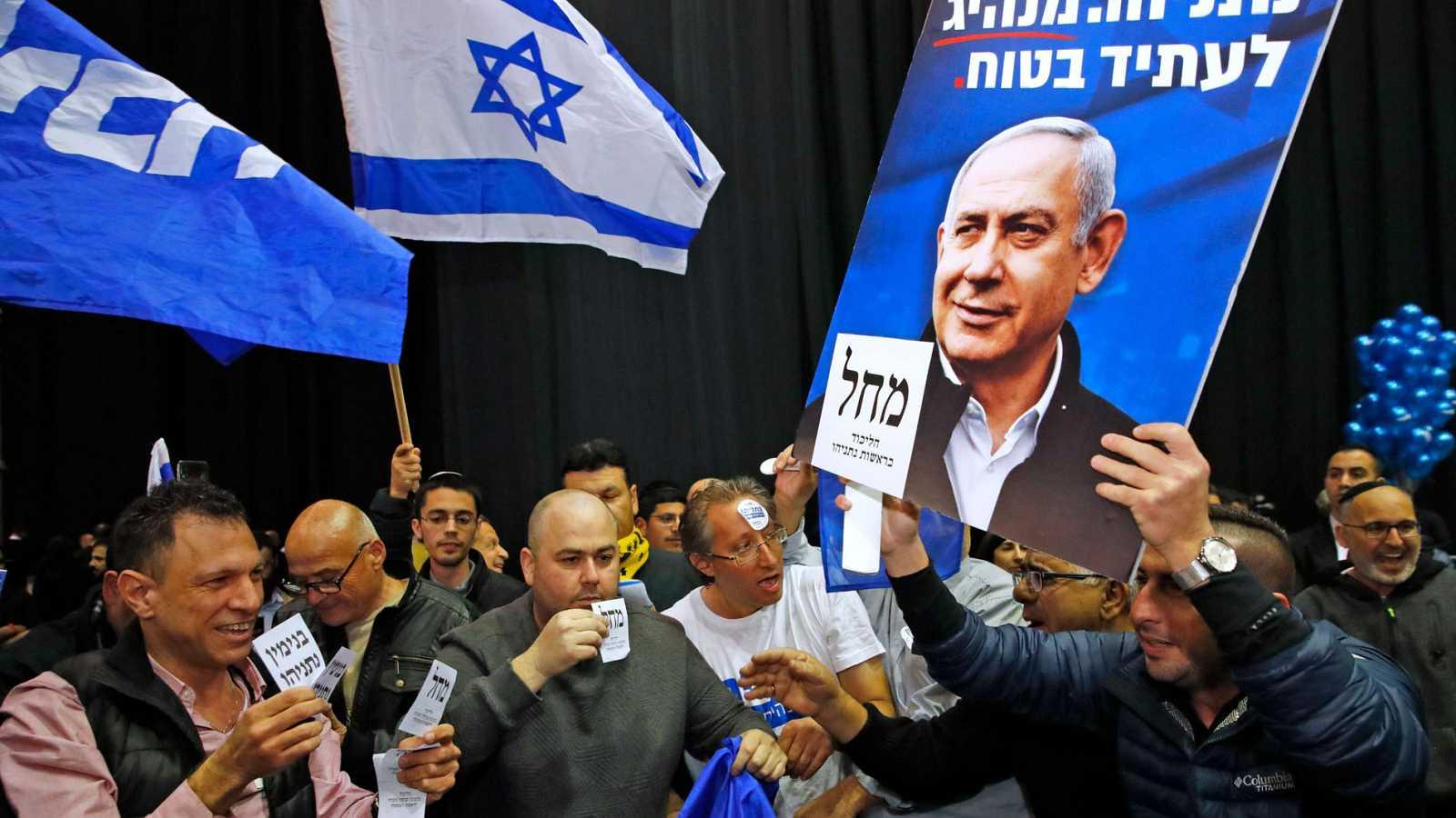 Netanyahu ganaría las elecciones en Israel, según los primeros sondeos