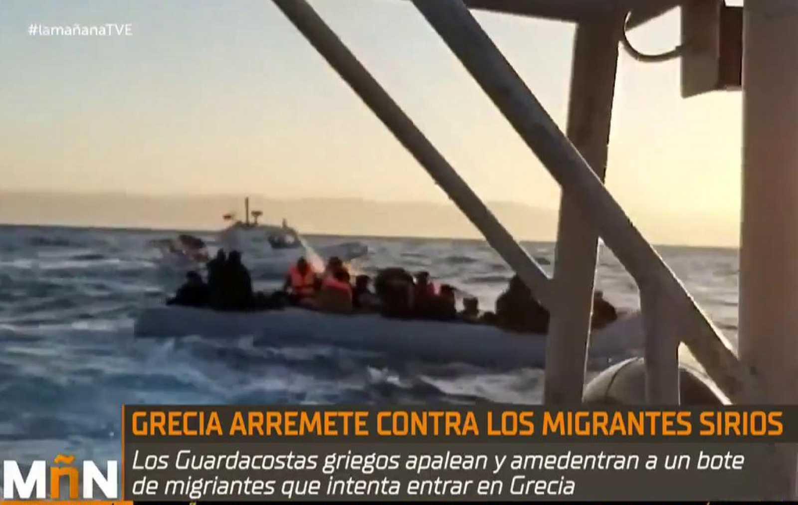 La Mañana - Miembros de una ONG vasca agredidos en Lesbos