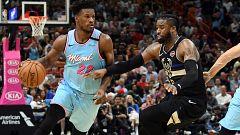 Los Heat aprovechan la anotación más baja de la temporada de Milwaukee