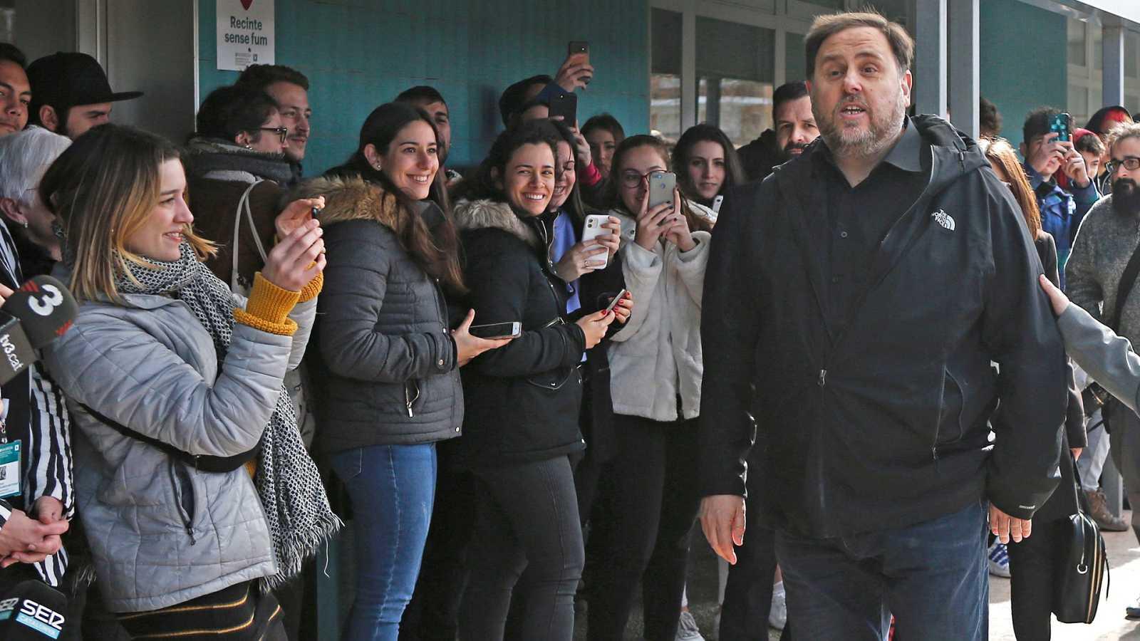 Junqueras sale de la cárcel para dar clase mientras sigue el pulso entre ERC y JxCat