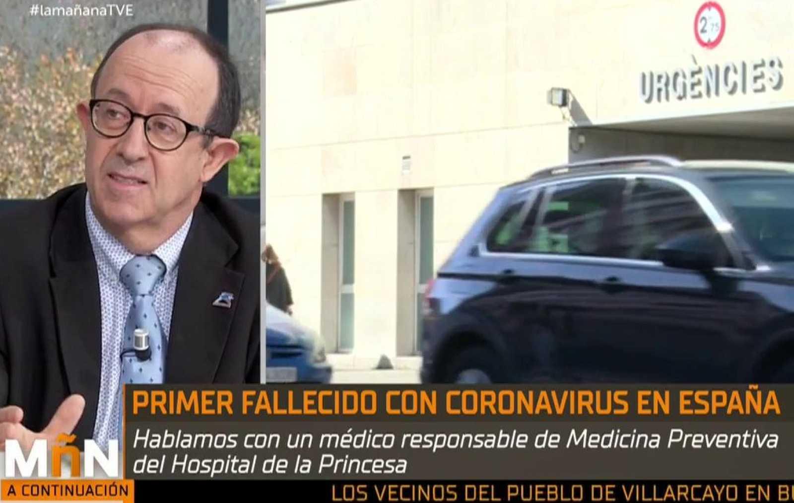 """La Mañana -  José Ramón Villagrasa: """"La mayor parte de las personas infectadas se van a recuperar"""""""