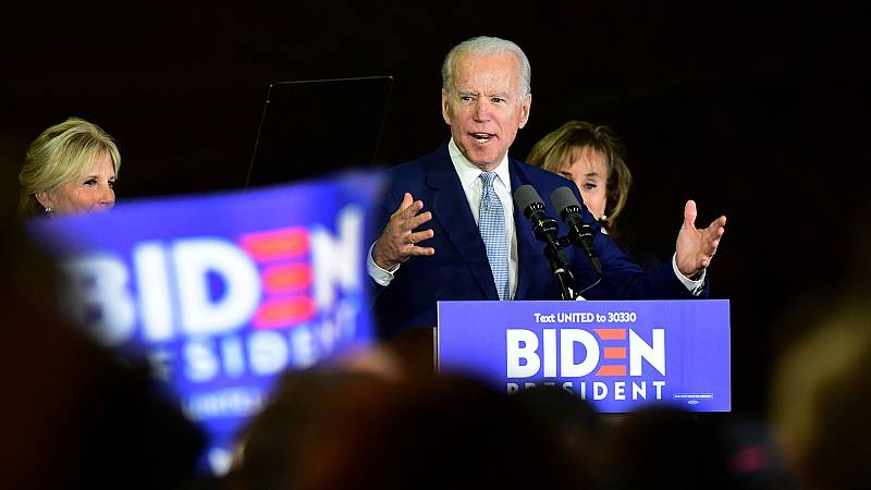 Biden vence a Sanders en nueve estados, incluyendo Texas, pero no conquista California en el 'supermartes' demócrata