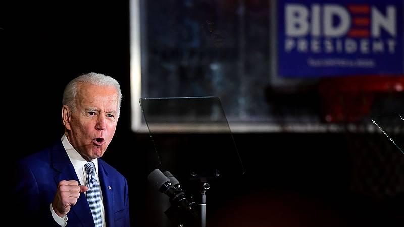 Biden o Sanders disputarán la presidencia a Trump