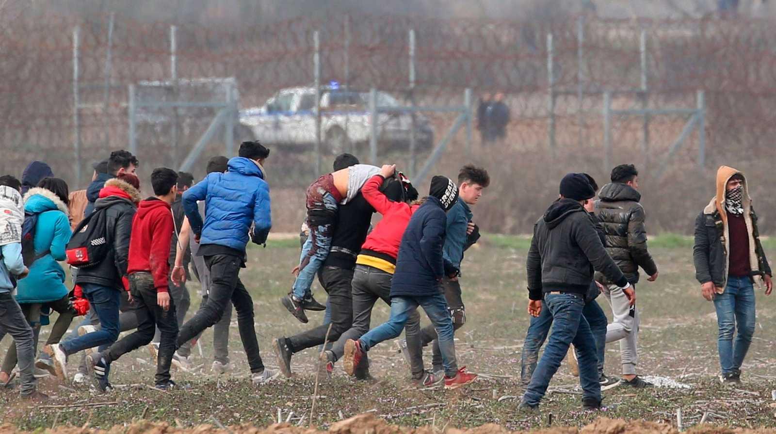Crisis de refugiados en la frontera turcogriega