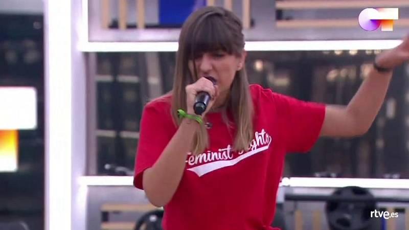 """Maialen canta """"Just a Girl"""", de No Doubt, en el primer pase de micros de la Gala 8 de Operación Triunfo 2020"""