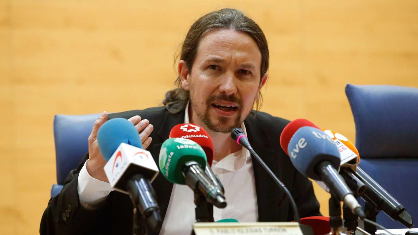 """Pablo Iglesias, sobre el intento de boicot en la Complutense: """"Total normalidad democrática"""""""