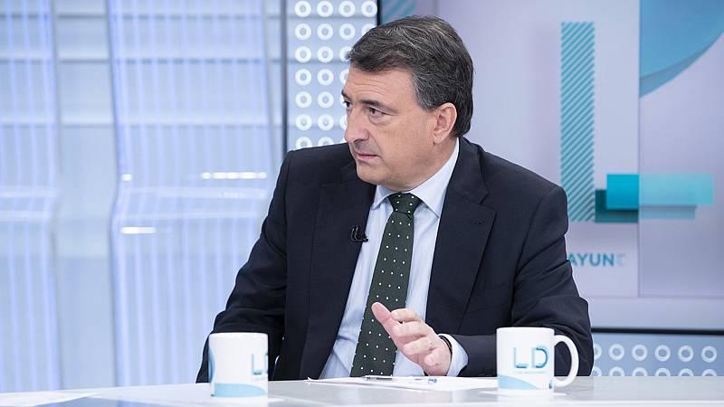 """Aitor Esteban (PNV) defiende la gestión del Gobierno vasco en la crisis de Zaldibar: """"Se ha actuado y se sigue actuando"""""""