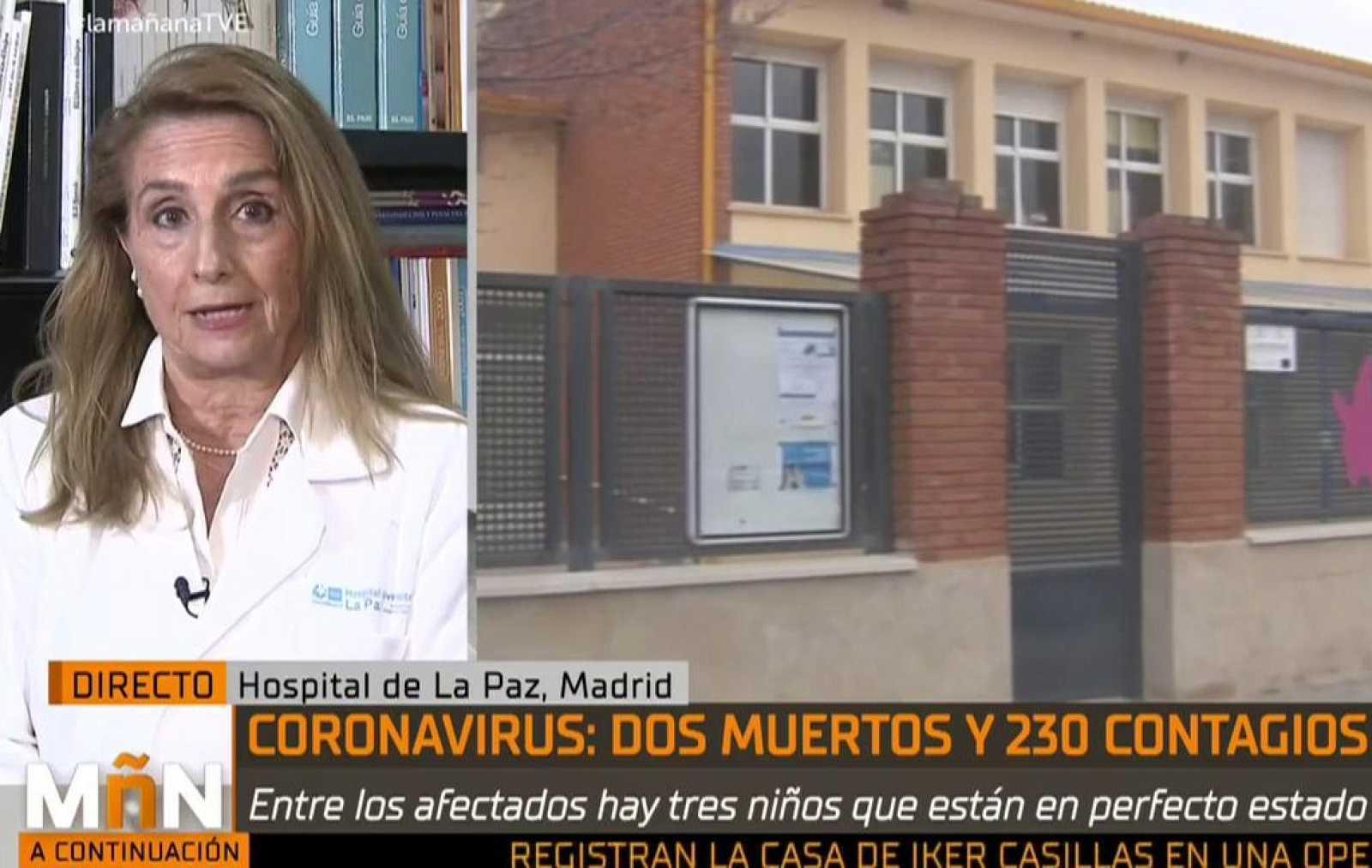 """La Mañana - María José Mellado dice que los niños """"transmiten menos virus"""" que los adultos"""